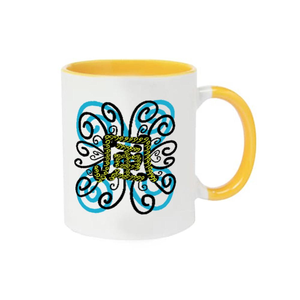 追い風(全色) 2トーンマグカップ