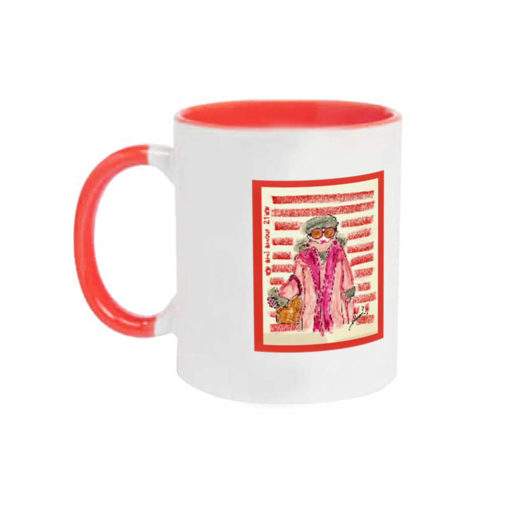 『マダムCimoneを探せ❤️』 2トーンマグカップ