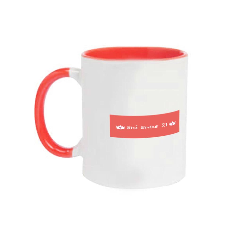 「マダムCimoneを探せ❤️」 2トーンマグカップ