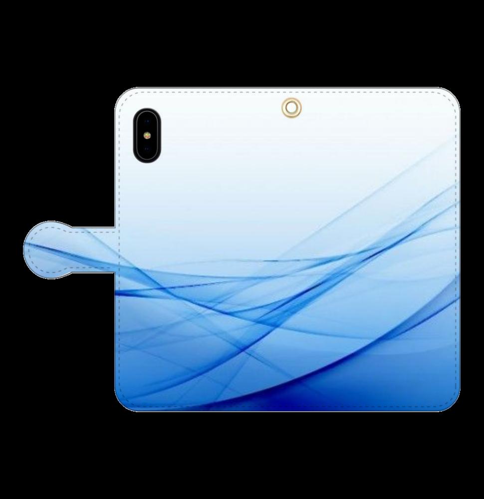 NO.62 iPhoneX/Xs 手帳型スマホケース