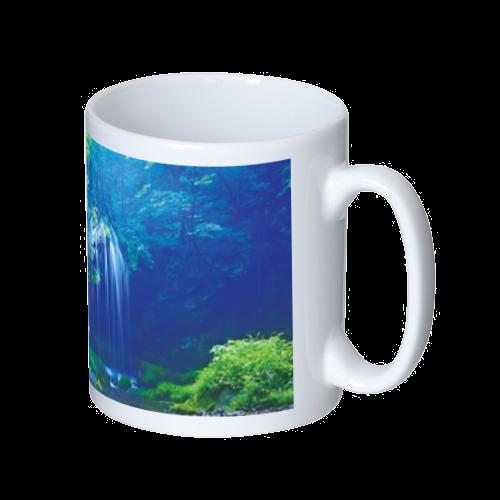 景色デザイン マグカップ  ホワイト