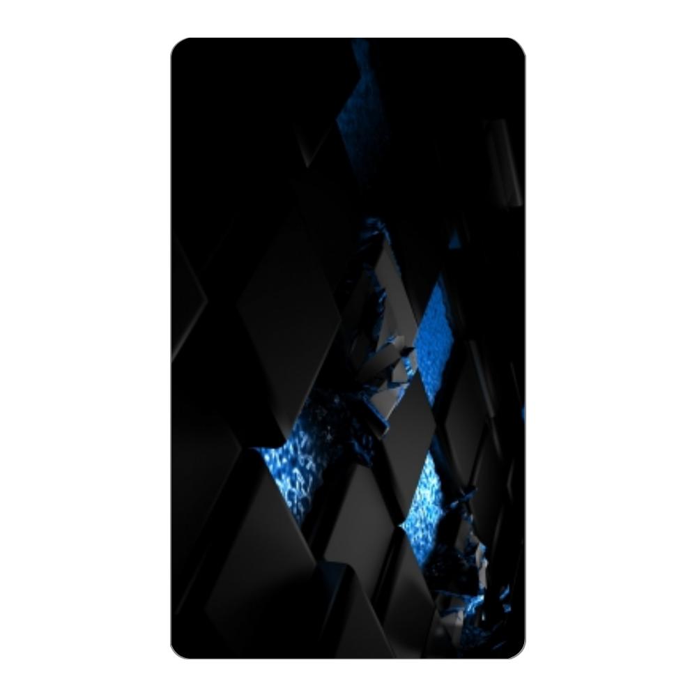 黒と青デザイン インジケータ無バッテリー4000mAh