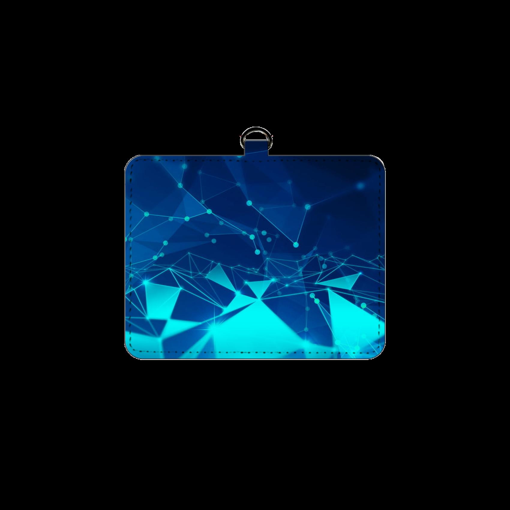 青ガラスデザイン パスケース