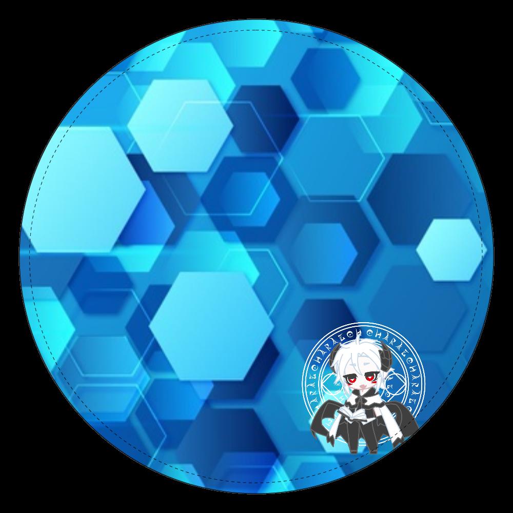 六角形(オリキャラ)デザイン コインケース