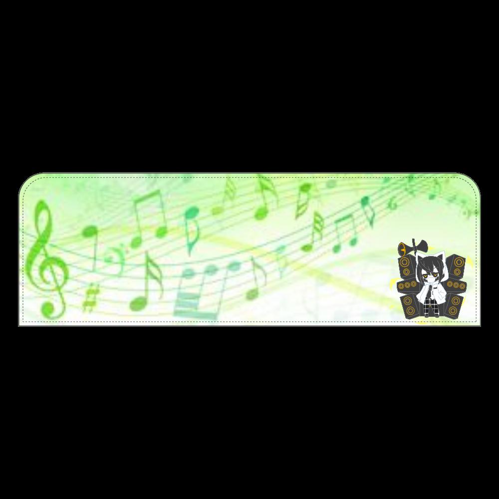 オリキャラペンケースデザイン(緑ver.) ペンケース