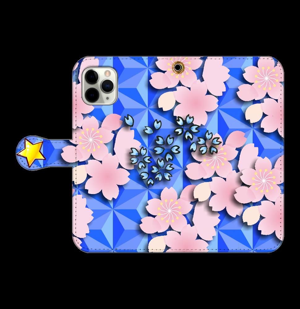 桜 iPhone11 Pro 手帳型 iPhone11 Pro 手帳型スマホケース