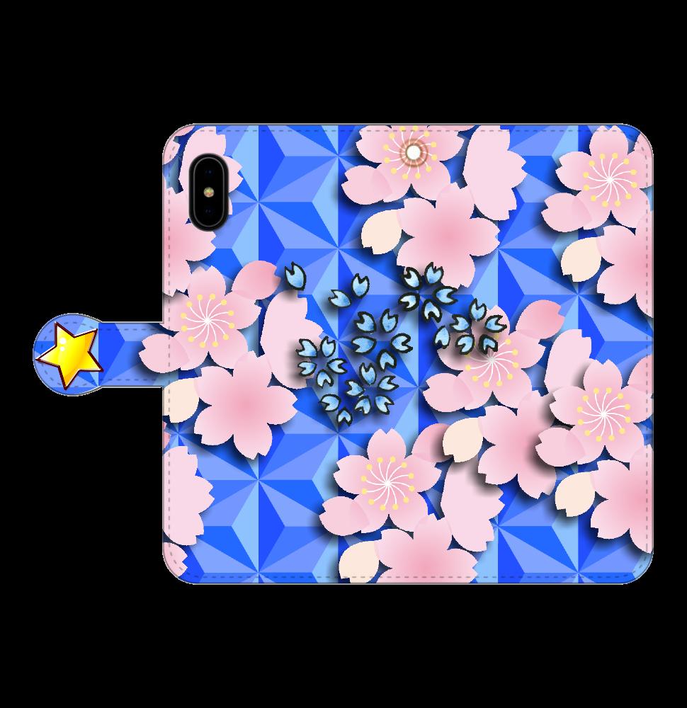 桜 iPhoneX/Xs 手帳型 iPhoneX/Xs 手帳型スマホケース