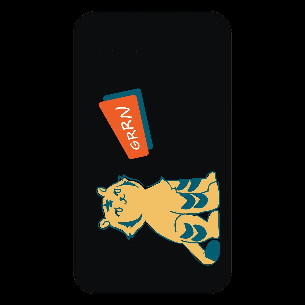 ごきげんトラガールのバッテリー 残量表示付きモバイルバッテリー(4000mAh)