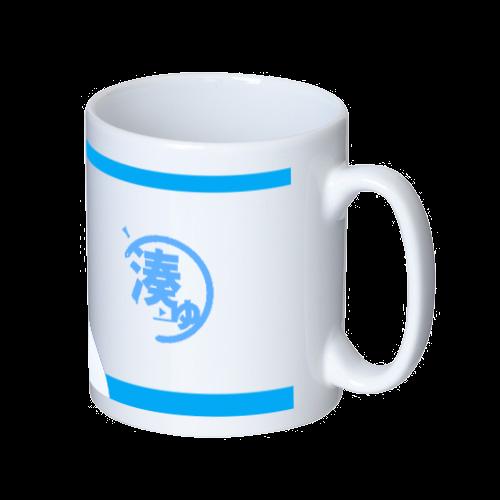 【芽】(めい) オリジナルマグカップ マグカップ  ホワイト
