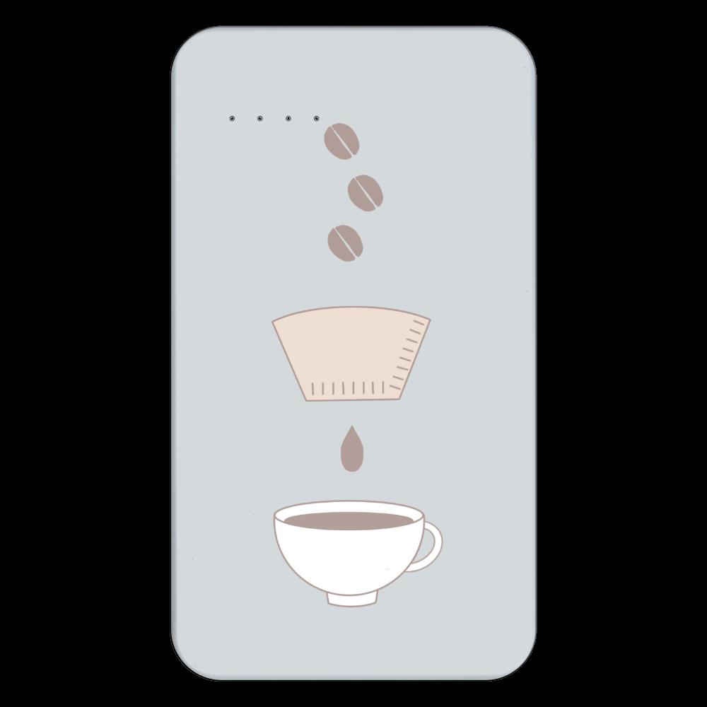 coffee process 残量表示付きモバイルバッテリー(4000mAh)
