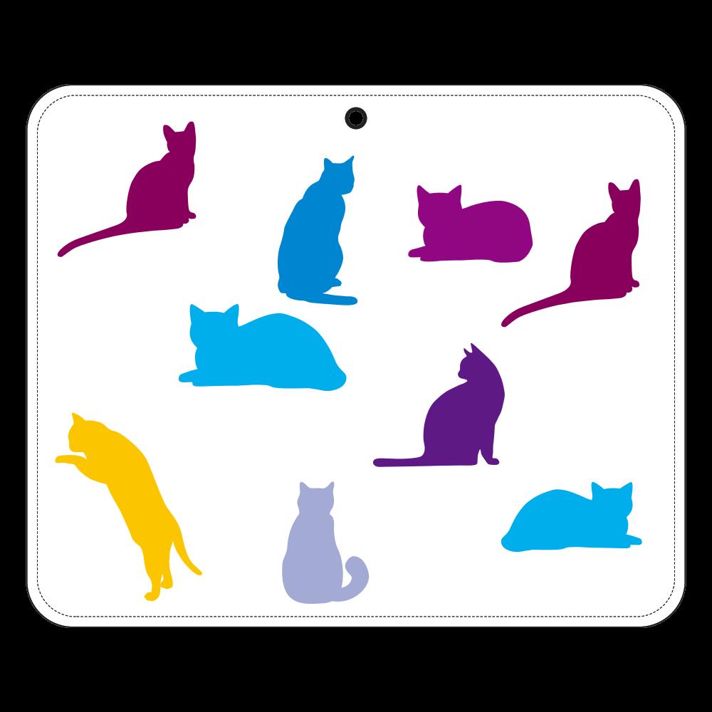 猫たちの帯なし手帳ケース(汎用マルチスライド式パーツ)L 帯なし手帳ケース(汎用マルチスライド式パーツ)L