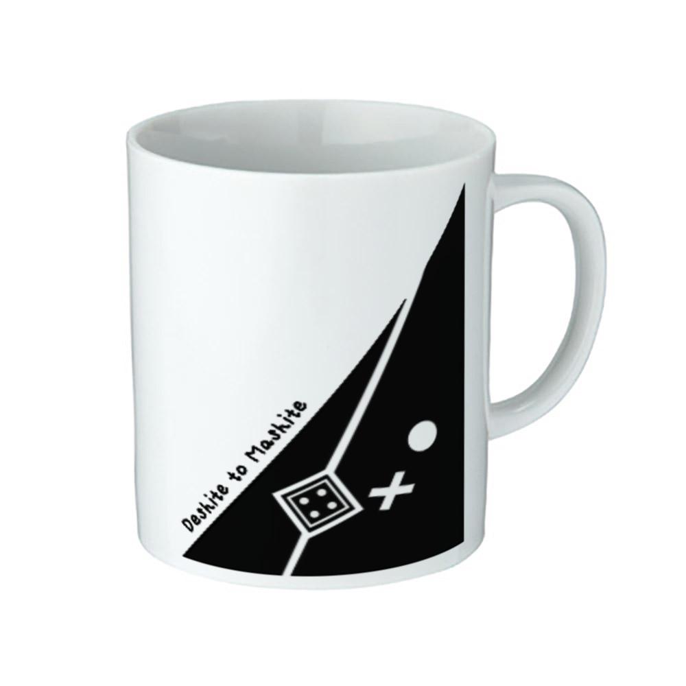 さんかくなデシテとマシテ-マグカップ- 陶器マグストレート(M)