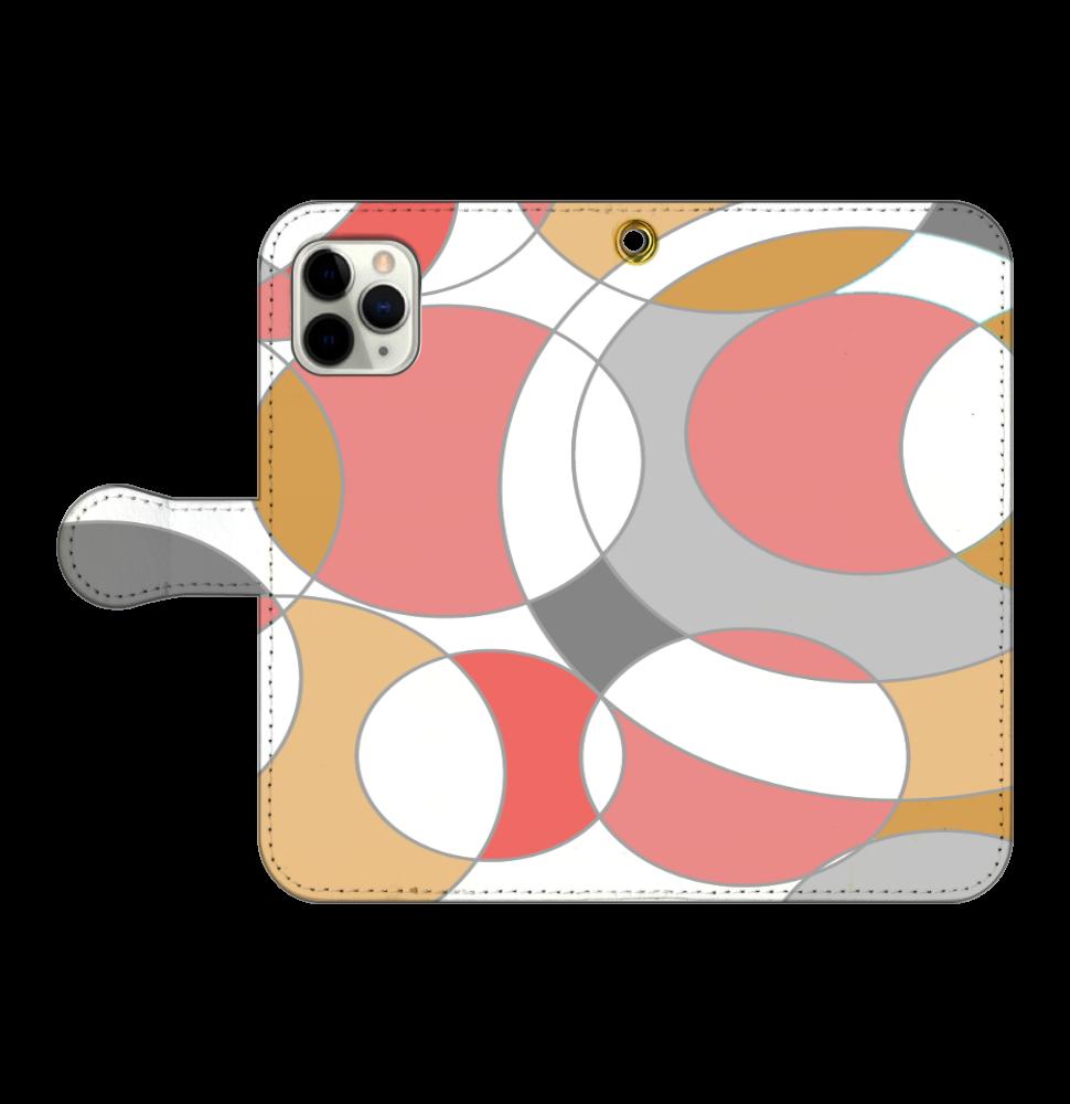 マル。 iPhone11 Pro 手帳型スマホケース
