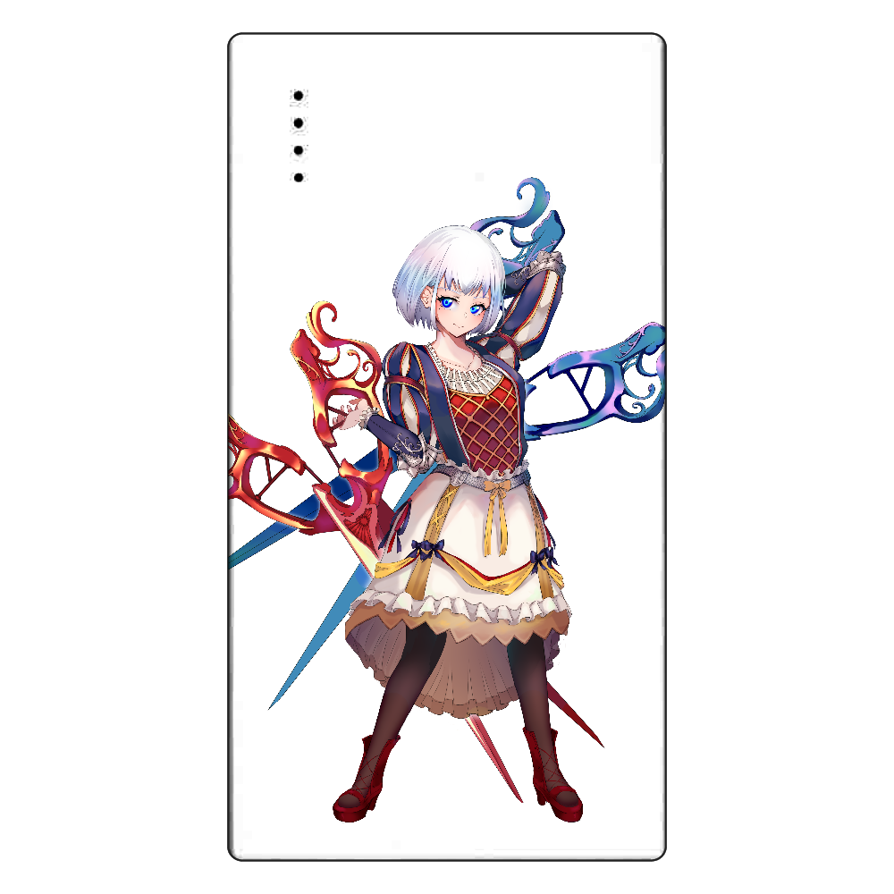 鋏ちゃん モバイルバッテリー cheero モバイルバッテリー(5000mAh)