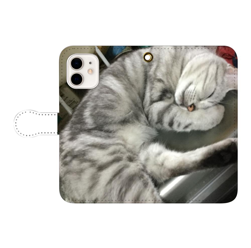 みーちゃんiPhone12/12pro 手帳型スマホケース iPhone12/12pro 手帳型スマホケース