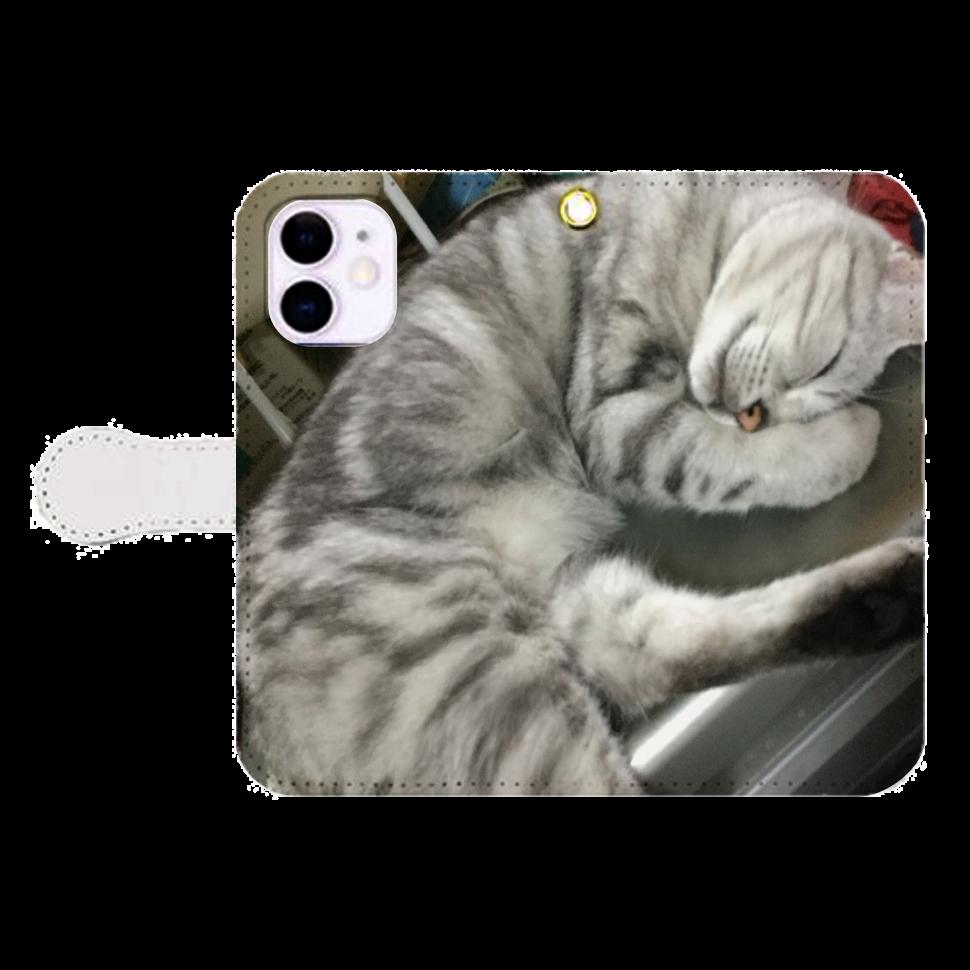 みーちゃんiPhone12mini 手帳型スマホケース iPhone12mini 手帳型スマホケース