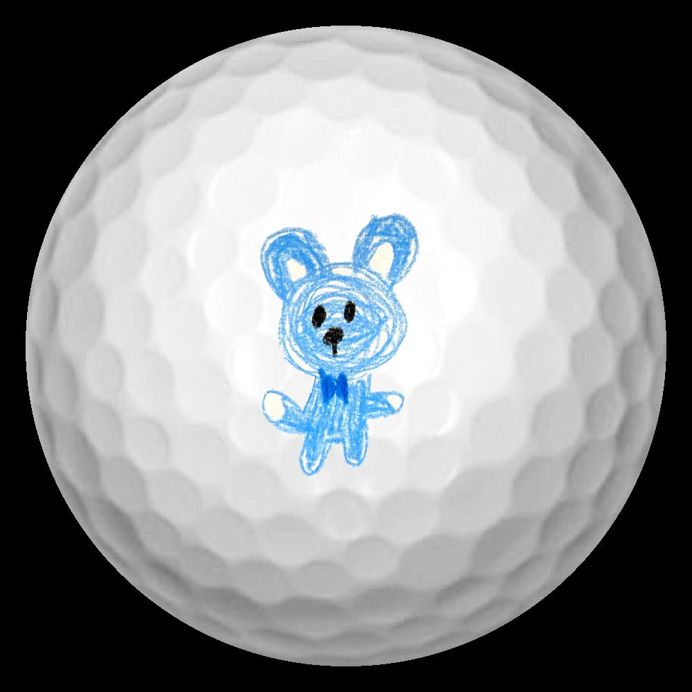 くまるん ゴルフボール(3個セット)