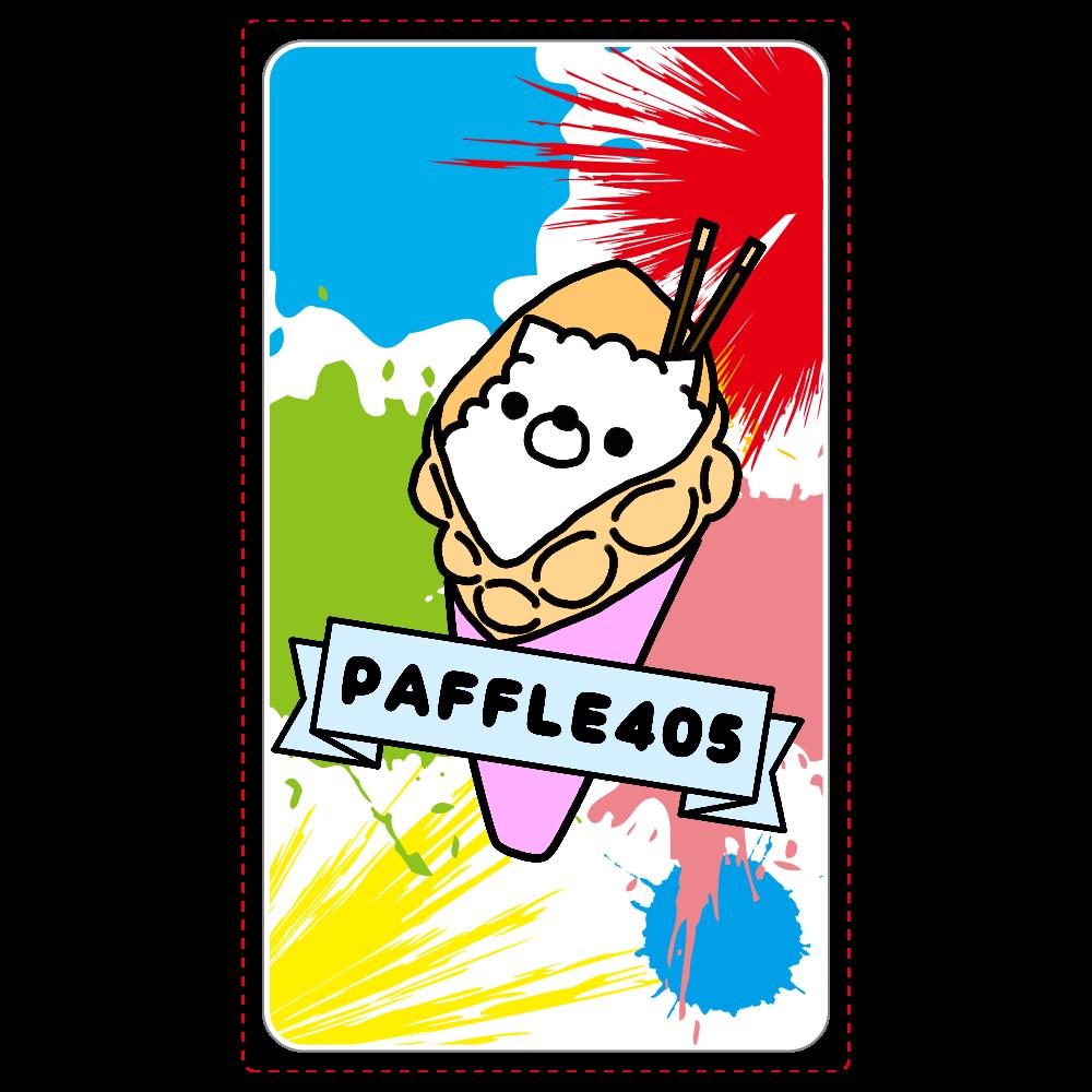PAFFLE405ロゴ/スプラッシュ/ワイヤレス充電器 ワイヤレス充電器