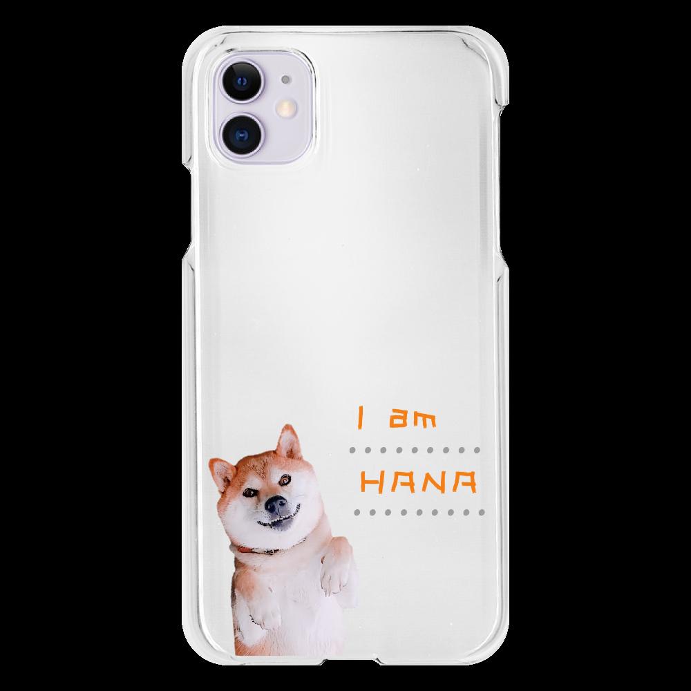 I am HANA iPhone11(透明)