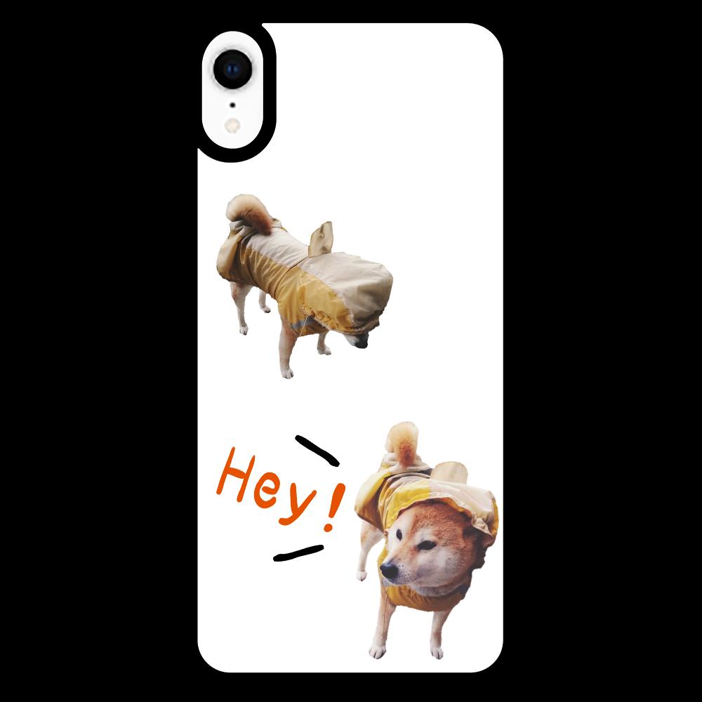 Hey! iPhoneXR_プリントパネルラバーケース