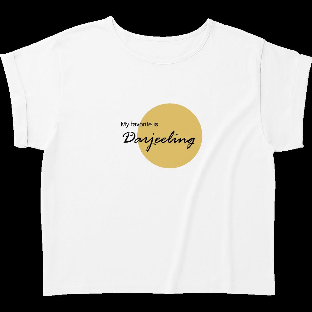My favorite TEA shirts ダージリン ウィメンズ ロールアップ Tシャツ
