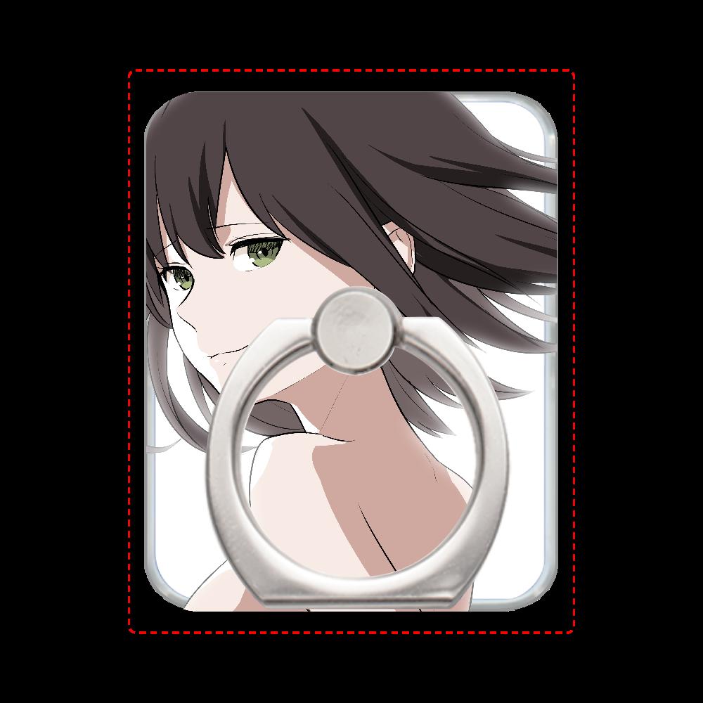 オリジナル漫画動画「Re.boot 再生少女」より スマホリング(シルバー) スマホリング