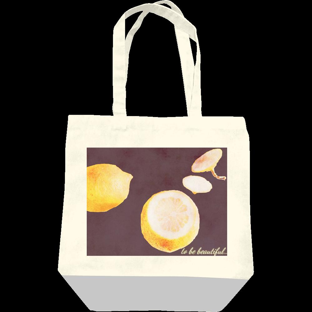 Lemon レギュラーキャンバストートバッグ(M)