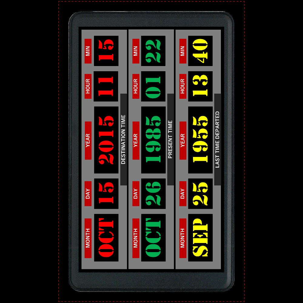 タイムマシンモバイルバッテリー マットタイプモバイルバッテリー(4000mAh)