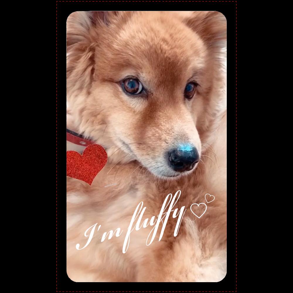 Fluffy dog♡ マットタイプモバイルバッテリー(4000mAh)