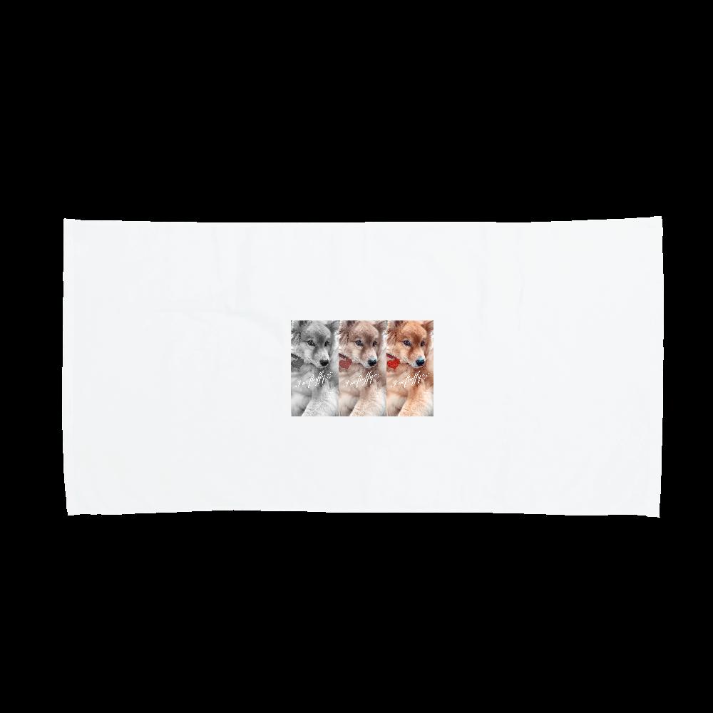 Fluffy dog♡ バスタオル