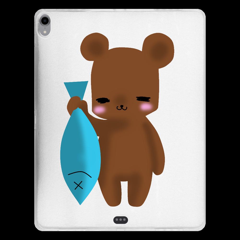 くま-2 iPad Pro 12.9インチ(2018年モデル) タブレットケース