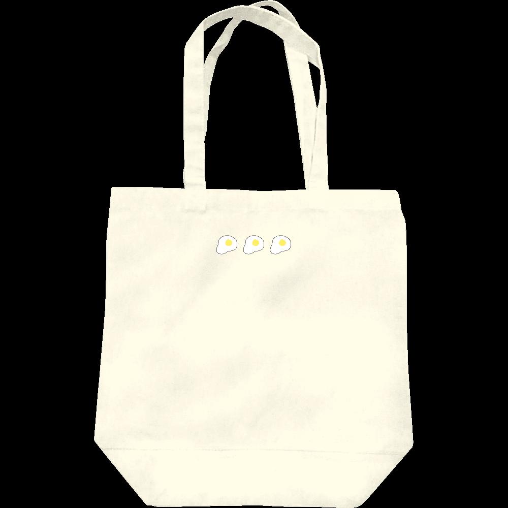 めだまやき3つ トートバッグ レギュラーキャンバストートバッグ(M)