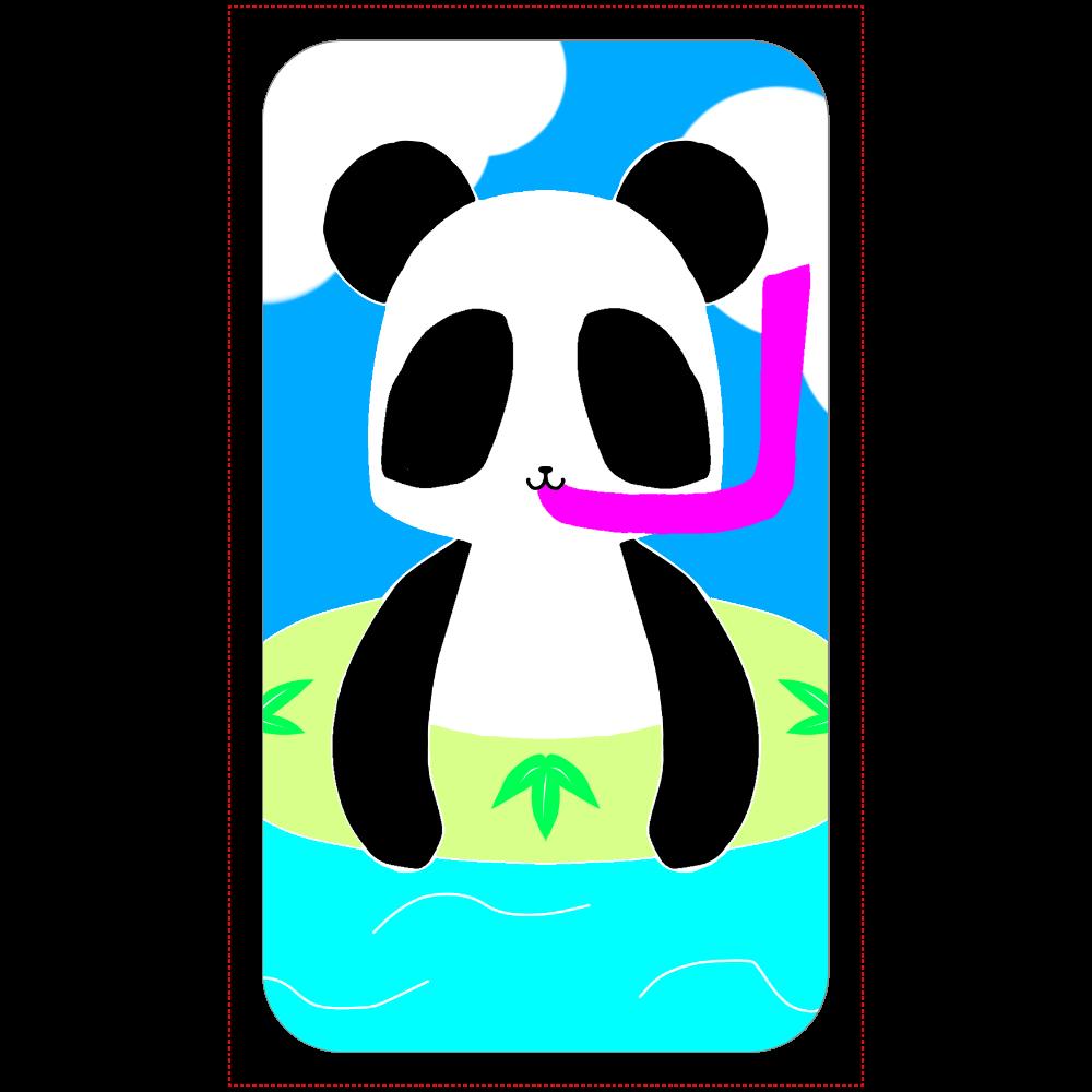 パンダ(笹) 残量表示付きモバイルバッテリー(4000mAh)