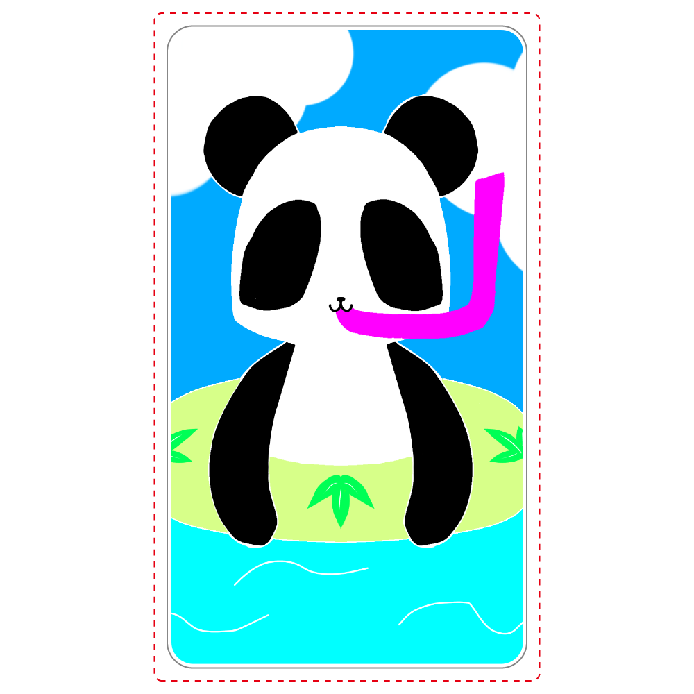 パンダ(笹) ワイヤレス充電器