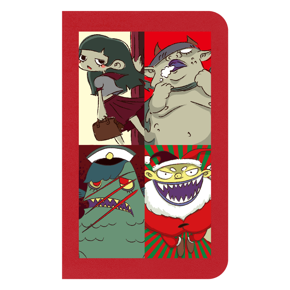 オリジナル漫画動画「昭和妖怪譚 神無子(カナコ)」より ハードカバーミニノート ハードカバーミニノート(罫線)