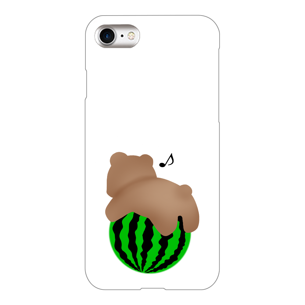スイカ iPhone8(白)