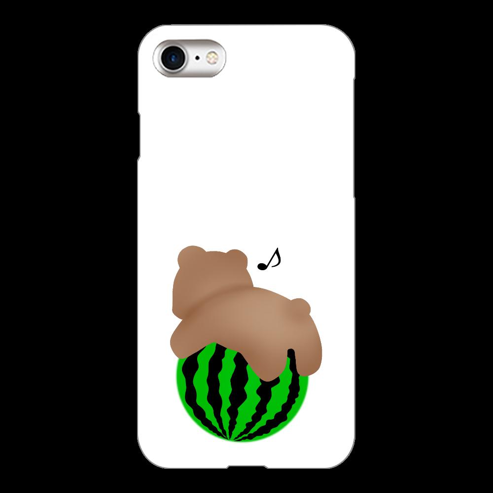 スイカ iPhone8(透明)