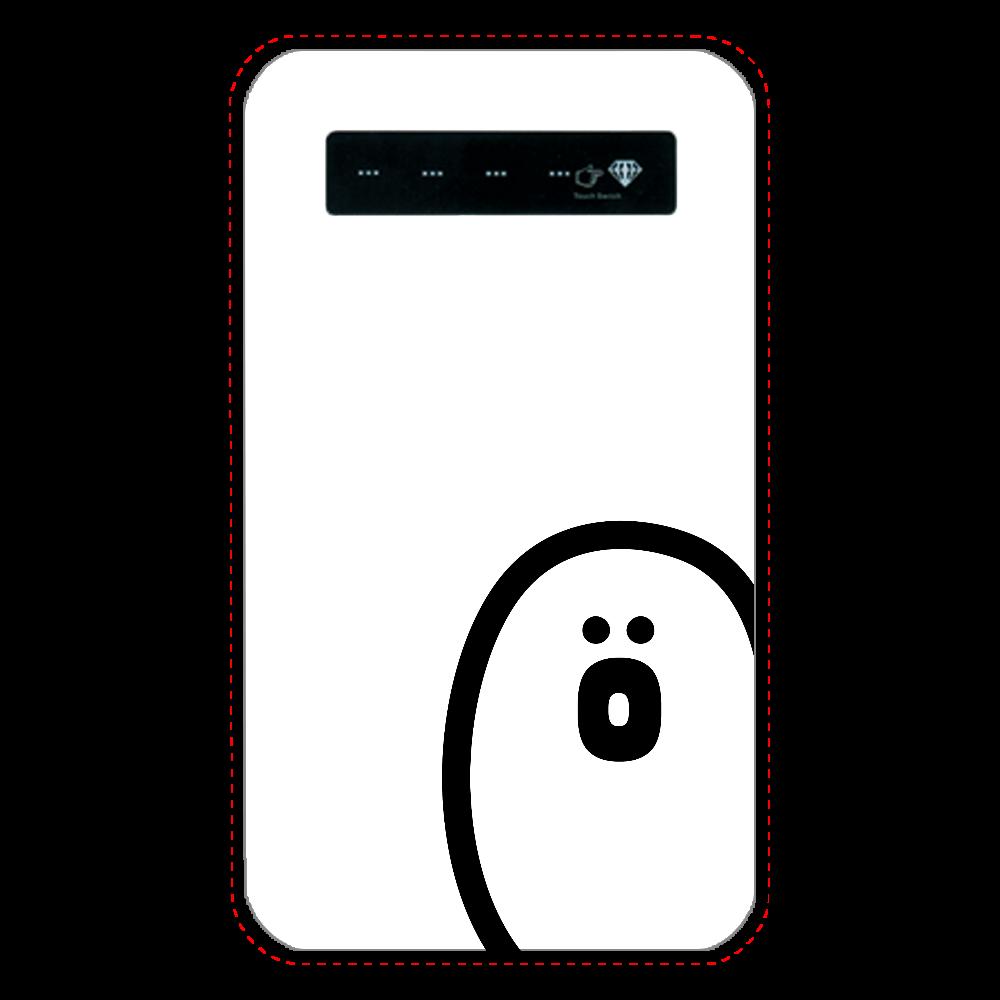 söpö minä オバケ モバイルバッテリー(残量表示) インジケータ有バッテリー4000mAh