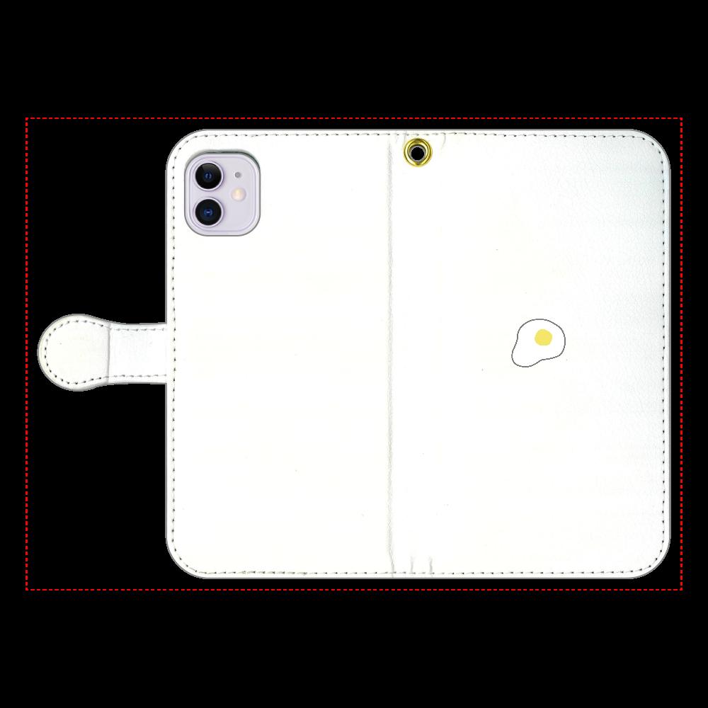 めだまやき 手帳型スマホケース iPhone11 手帳型スマホケース