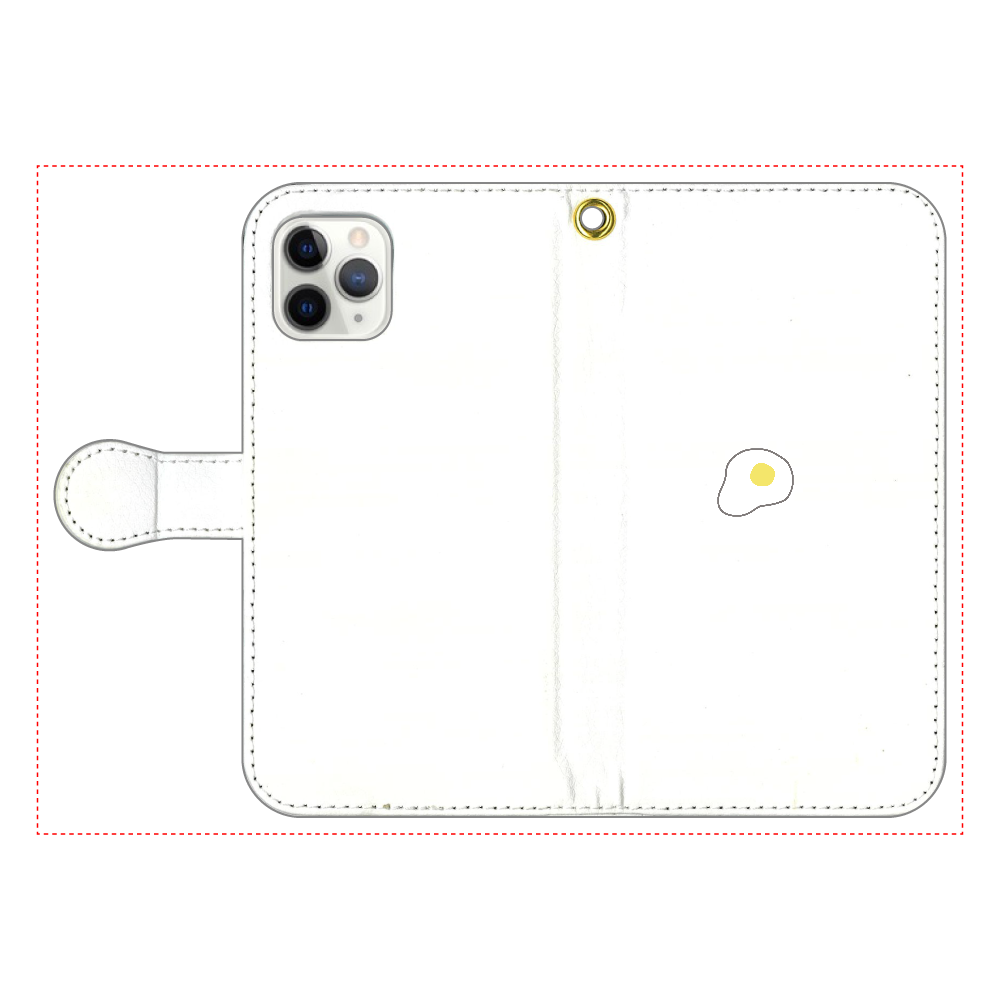 めだまやき 手帳型スマホケース iPhone11 Pro 手帳型スマホケース