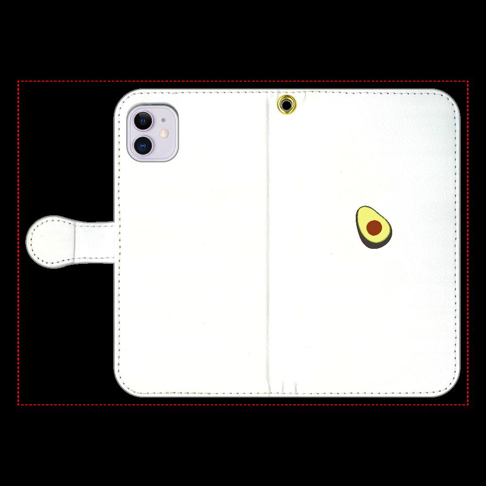 あぼかど 手帳型スマホケース iPhone11 手帳型スマホケース