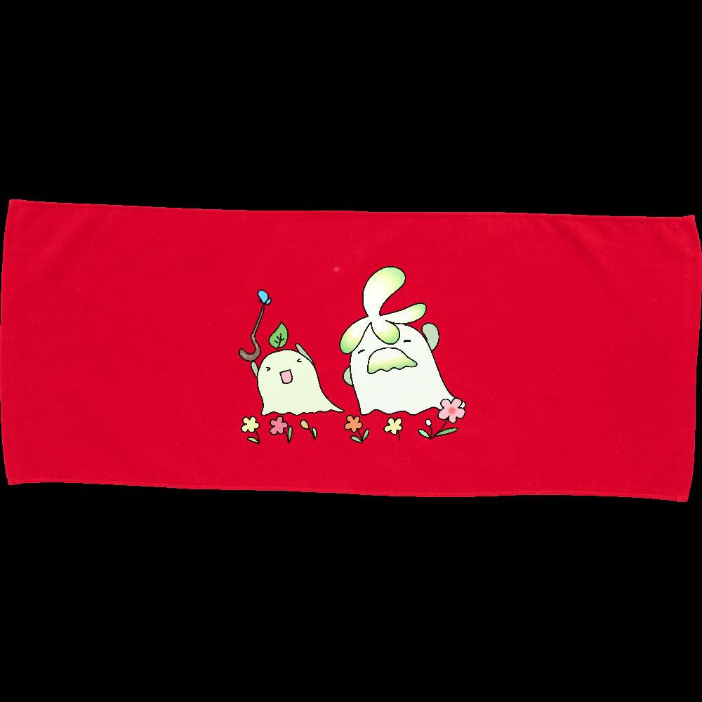 長老とストレッチ-タオル カラーフェイスタオル