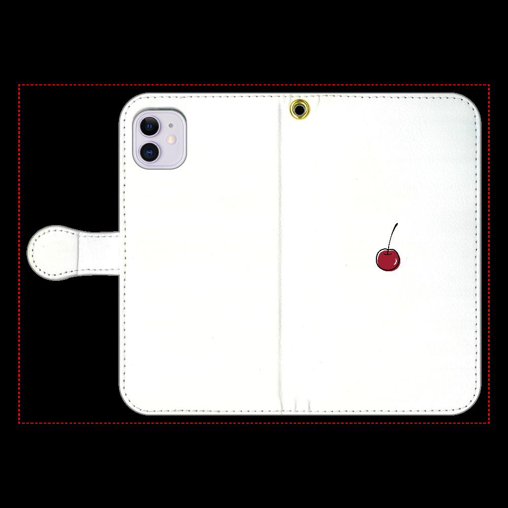 ちぇりー 手帳型スマホケース iPhone11 手帳型スマホケース