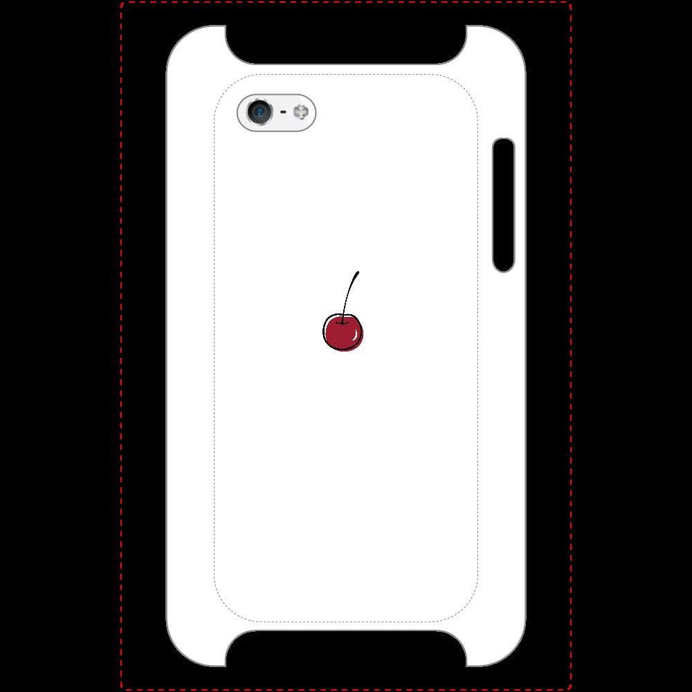 ちぇりー マットスマホケース iPhone5/5s/SE