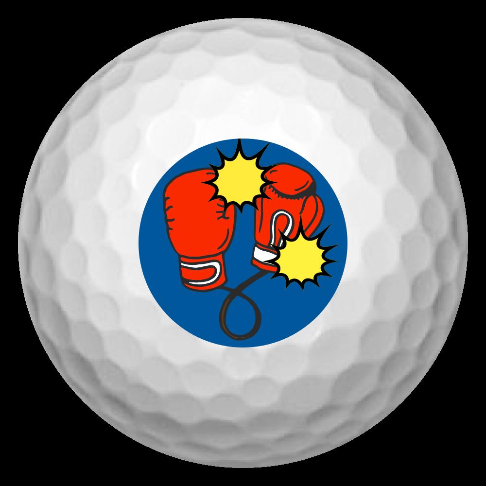 ユニークゴルフボール ゴルフボール(3個セット)