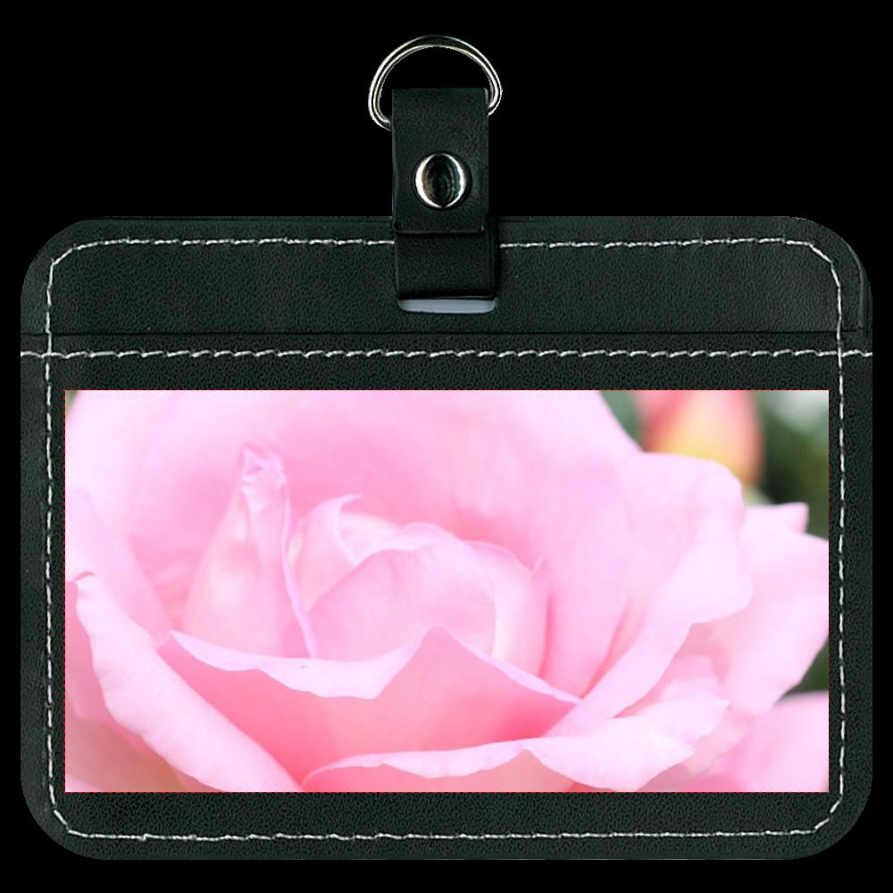 オリジナルパスケース/Pink rose オリジナルパスケース