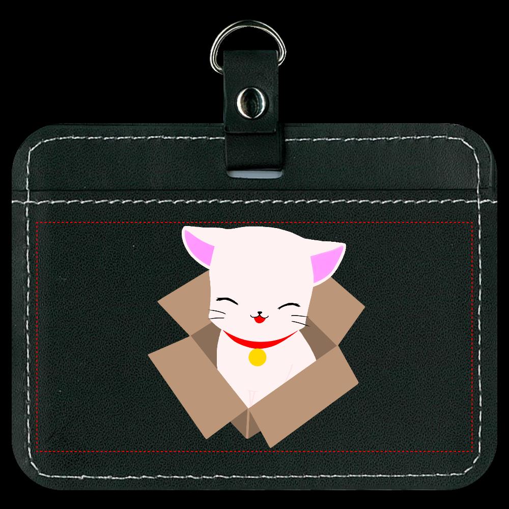 ねこ(箱入り) オリジナルパスケース
