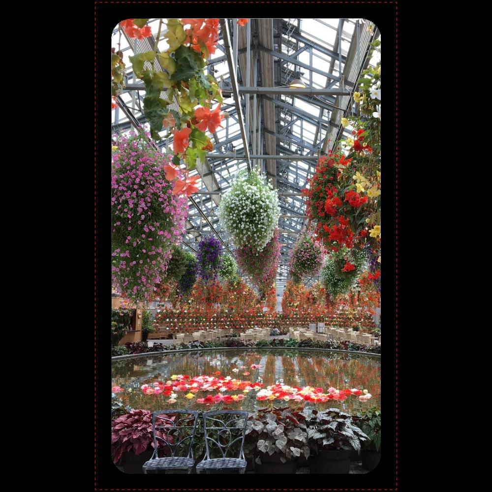 マットタイプ モバイルバッテリー(4000mAh)/Begonia garden マットタイプモバイルバッテリー(4000mAh)