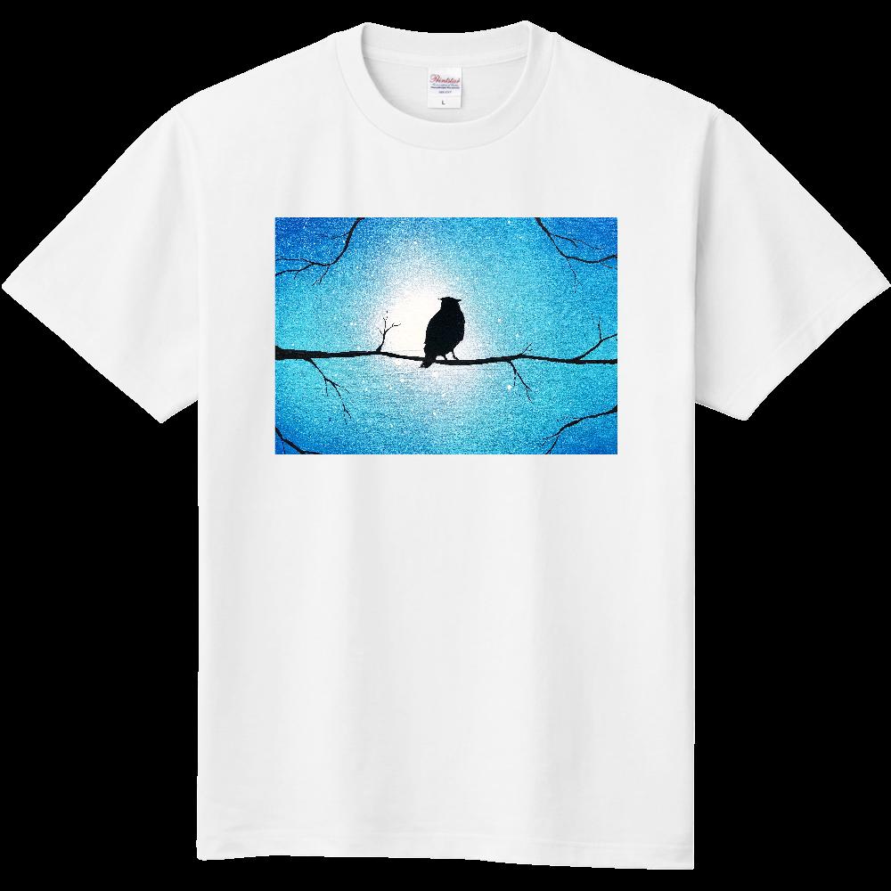森の梟  Tシャツ 定番Tシャツ