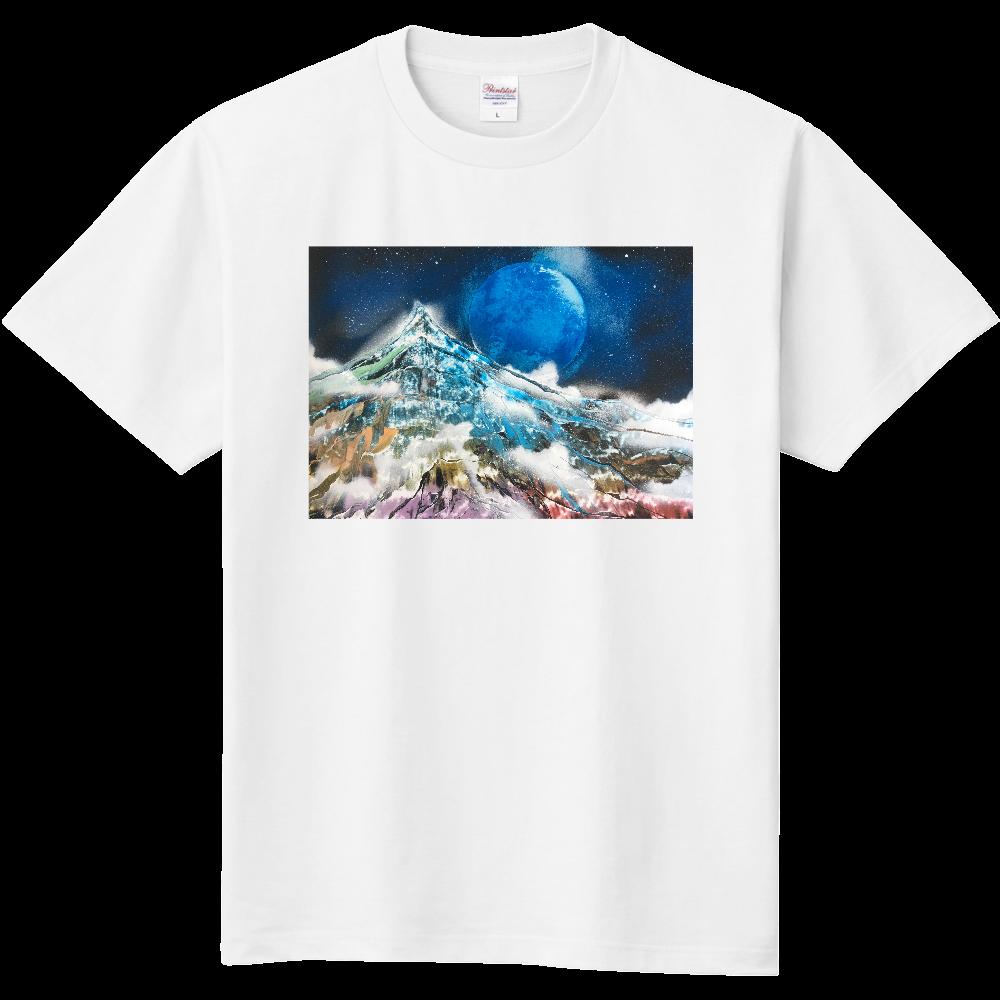 極彩色の山 Mountain of Attractive Colors Tシャツ 定番Tシャツ